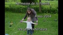 Jeux extérieurs de la kermesse familiale 2014
