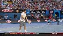 Federer vs Tomic - Australian Open 2012