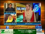 Intense Fight between Talal Chaudhry(PML-N) and Naz Baloch(PTI) in a Live Show