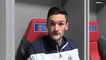 "Hugo Lloris : ""On travaille dur"" (France - Paraguay 2014)"