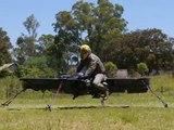 Inventore realizza bicicletta volante stile Star Wars. Inventor Begins Testing a 'Star Wars' Hoverbike WWW.GOODNEWS.WS