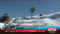 Snow Festival Opening ceremony in malam jabba by sherin zada