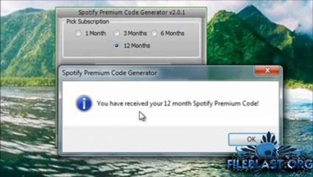 Spotify Premium Code Generator 2014 смотреть видео онлайн