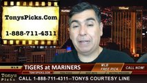 MLB Odds Seattle Mariners vs. Detroit Tigers Pick Prediction Preview 6-1-2014