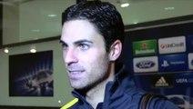 Arsenal 2-0 Montpellier | Mikel Arteta Interview | Champions League | 21-11-2012