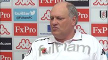 Arsenal v Fulham - Jol on whether Arsenal are beatable | Premier League 2012-13