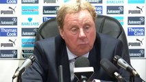 Harry Redknapp Post Tottenham 2-0 Blackburn | English Premier League 2012