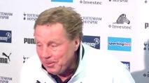 Stevenage v Tottenham - Harry Redknapp full press conference | FA Cup 2012