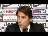 Juve, Conte: 'Il Siena non è il Real Madrid, ma ci farà soffrire. Devo valutare Vidal'