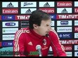 Allegri 'Milan da scudetto; non giudico Leo; derby? Vale più per loro' VIDEO