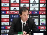 Milan, Allegri 'Berlusconi si è complimentato' VIDEO