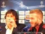 "Milan-Manchester United, Beckham: ""Partita speciale"""