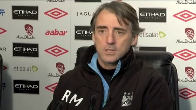 Mancini on Pizarro signing and Hargreaves | Machester City vs Fulham | EPL 2012