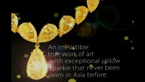 01 70 Carat of Beauty. ONLY Yellow Diamonds' Necklace. ONLY at ASTERIA