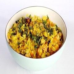 Protein Poha    Namaste Breakfast