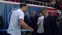 Olivier Tallaron bouscule un fils de Zlatan Ibrahimovic ! 2014 05 07