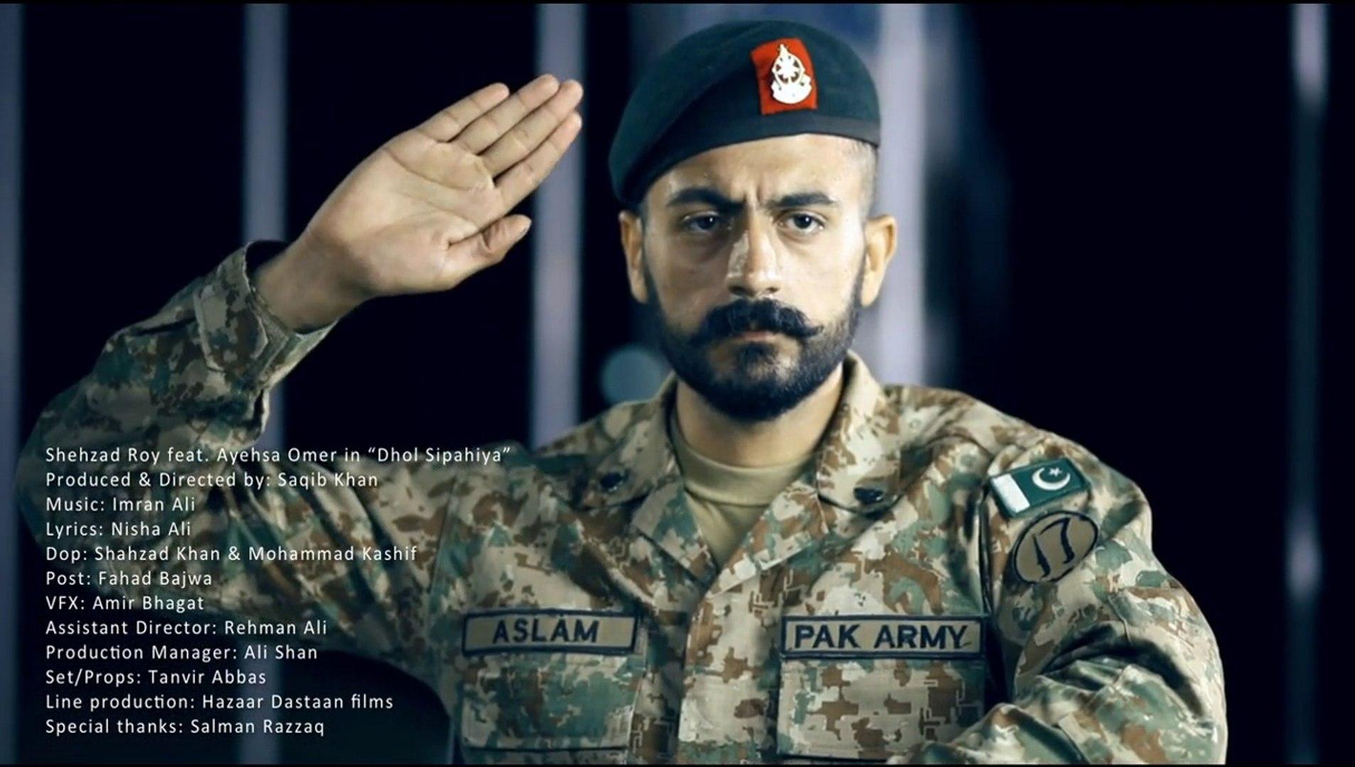 Shehzad Roy - Dhol Sipahiya HD Official Full Music Video [2014] Tribute To  Pak Army