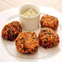 Masala Dal Wada    Namaste Breakfast