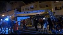 Course de voiture de nuit : Nissan LEAF 100% Electrique - Silent Ride