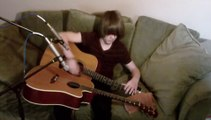 So talented Teen Covers 'Drifting' On Two Guitars