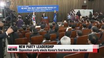 Ruling, opposition parties name new floor leaders