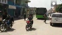 Los rebeldes sirios dinamitan el cuartel general del régimen en Alepo