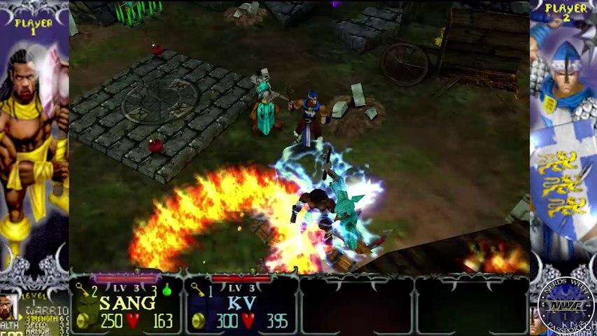 MULTI-PLAYAS! | Gauntlet Dark Legacy (Part 1): Knights & Warriors | N.W.P