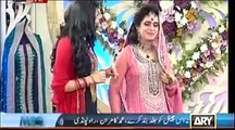 The Morning Show With Sanam Baloch -- 9th May 2014 Morning Show