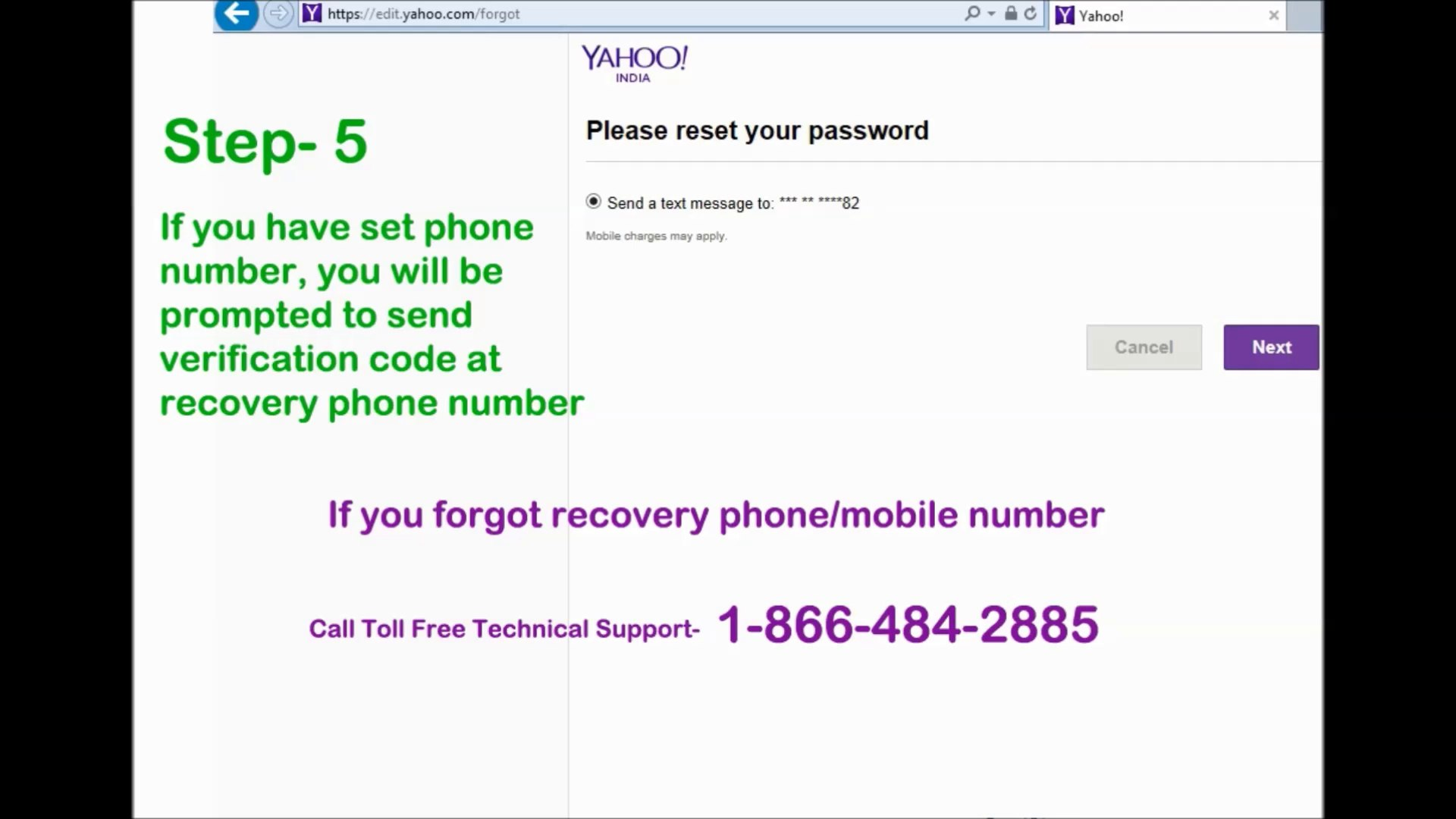 Call Toll Free 1-855-227-3084 | How to Recover Yahoo Password | Yahoo  Password Recovery | How to reset Yahoo Password | Retrieve Yahoo Password |  Lost or Forgot Yahoo Password | Yahoo Password Support