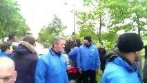 Rennes : Les images de l'altercation entre Kana-Biyik et les supporters