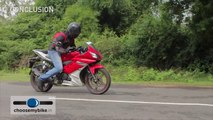 Bikes@Dinos: Yamaha FZS Version 2 0 new Walkaround Review (4