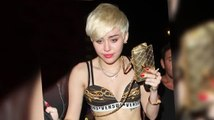 Miley Cyrus Parties with Louis Walsh