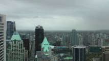 Downtown Vancouver, Canada On May 3, 2014