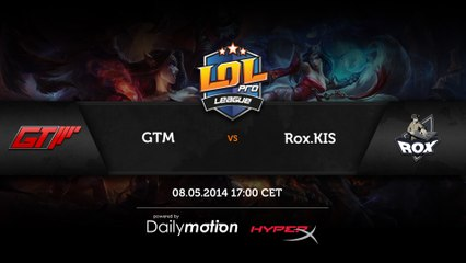 RoX.KIS vs GTM - game 2 (ENG)