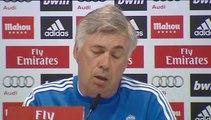 El entrenador del Real Madrid afirma que su equipo no está pensando en la Liga de Campeones
