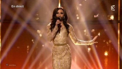 "Eurovision 2014 : Autriche - Conchita Wurst ""Rise like a Phoenix"""