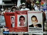 Mexicanas en Día de las Madres buscan a sus hijos desaparecidos
