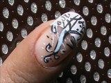 Shimmer French Tip - Easy Nail Design- easy nail art for short nails- nail art tutorial- beginners