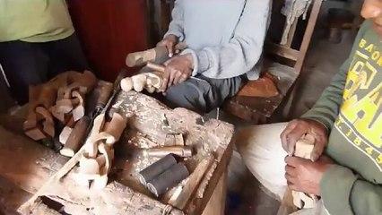 Le travail du bois à Madagascar