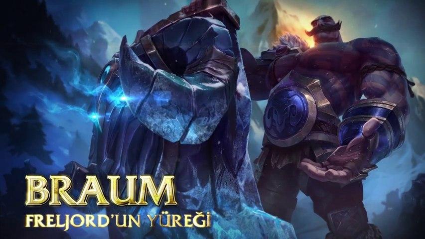 Braum Şampiyon Tanıtımı