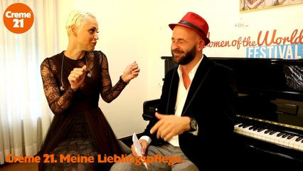 Backstage Interview Mariza by WOTW Festival & Creme21