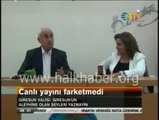 Canlı yayında basına gerçekleri duyurmaması için rüşvet teklif eden Giresun Valisi Dursun Ali Şahin…