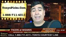 NBA Game 4 Pick Prediction Indiana Pacers vs. Washington Wizards Odds Playoff Preview 5-11-2014
