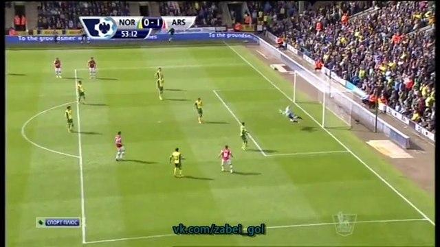 Norwich City 0-1 Arsenal 11/5/14 Premier League