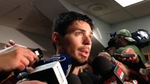Carey Price after the Habs 4-3 win over the Bruins in double overtime