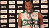 Déclarations d'après-match JSF Nanterre - SLUC Nancy