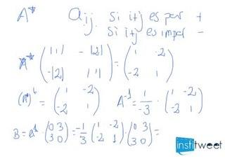 Operaciones sencillas con matrices