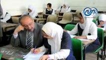 شاهد ..  49 الف طالب وطالبة يؤدون امتحانات الشهادتين الابتدائية والإعدادية بأسوان
