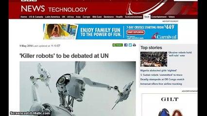 Killer Robots to be Debated at Un on May 13-16