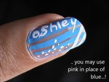 Write your name! EASY Nail Designs for Beginners